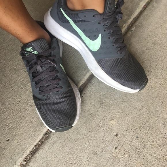 Well worn women's Nike shoes